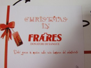 #ChristmasInFratres2012